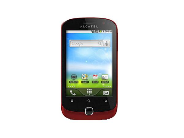 Alcatel OT 990 Front View