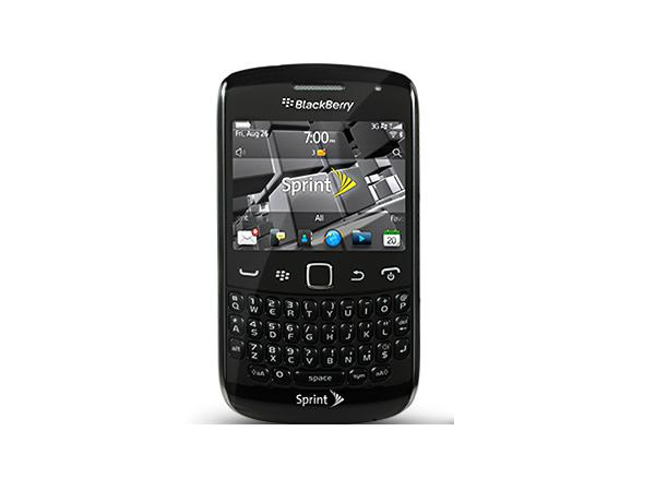 BlackBerry Curve 9350 Front View