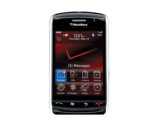 BlackBerry Storm 9500 first touch phone from RIM