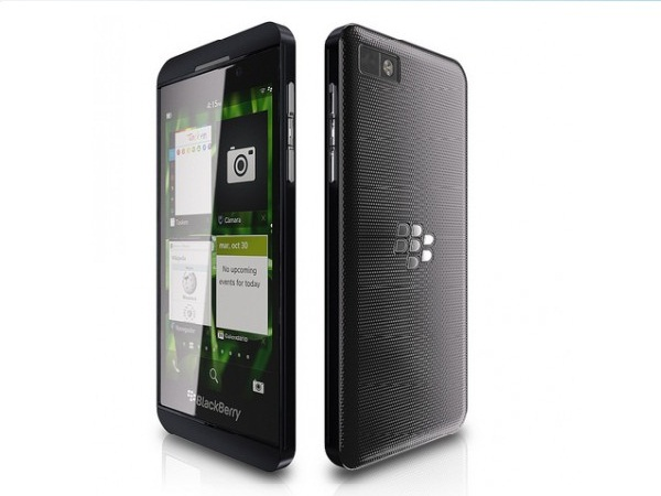 BlackBerry Z10 Front & Back View