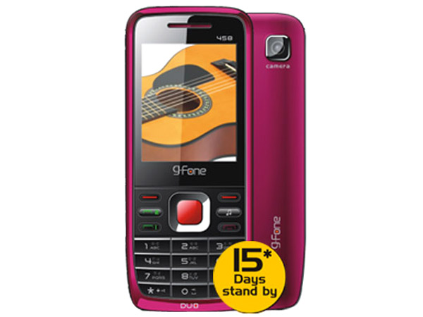 G Fone 458 Mobile Phone