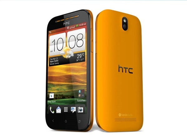 HTC Desire SV Front & Back View