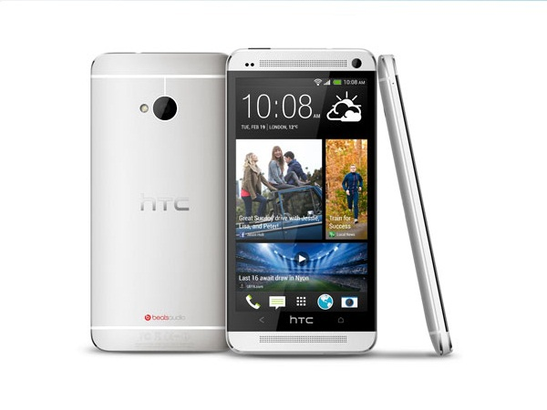 HTC One all side view