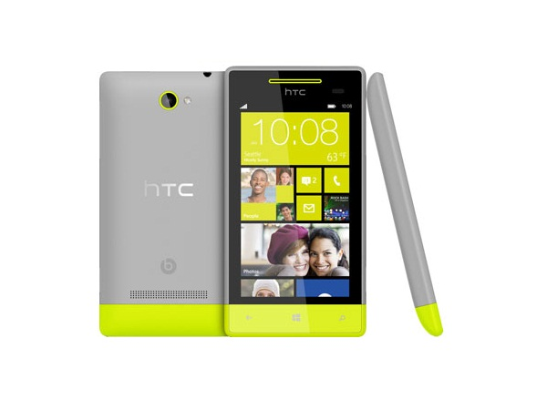 HTC Windows Phone 8S All side view