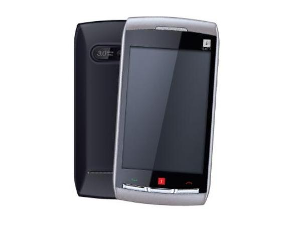 iBall Aura - V36 Front and Back View