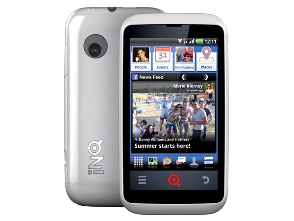 INQ Cloud Touch Cell Phone