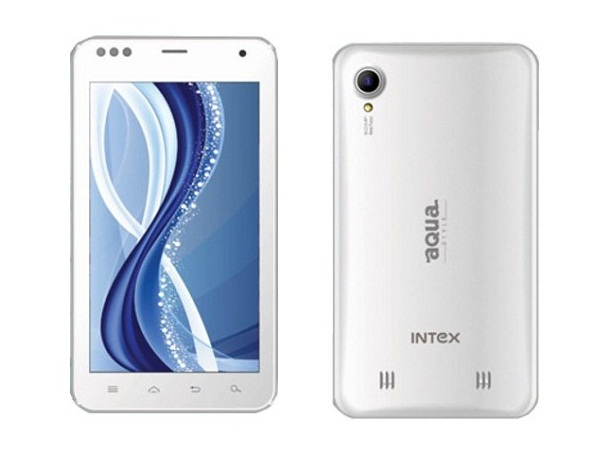 Intex Aqua Flash Intex Aqua Flash Front & Back Vie