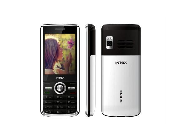 Intex In 4070 Shine Front,Side and back View