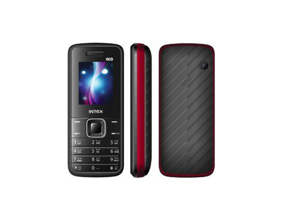 Intex IN1010 Neo front,side and back view