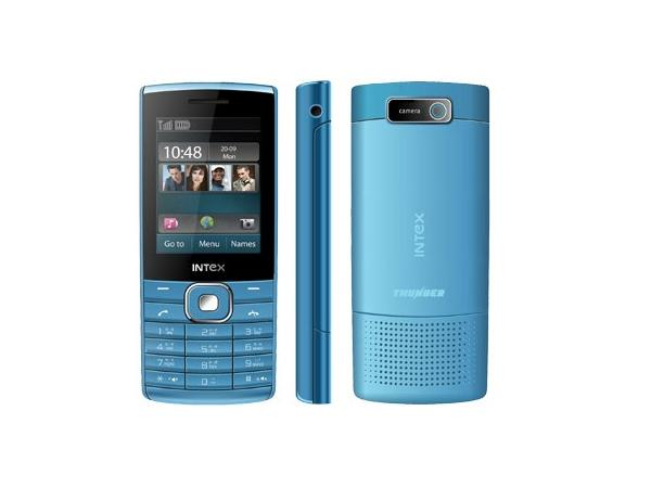 Intex IN4500 Thunder Front,Side and Back View