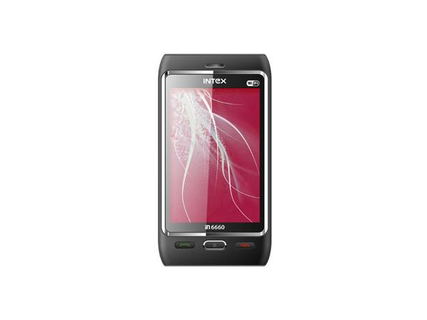 Intex IN6660 V.DO Touch WIFI Front View