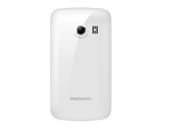 Karbonn A1 Plus Back View
