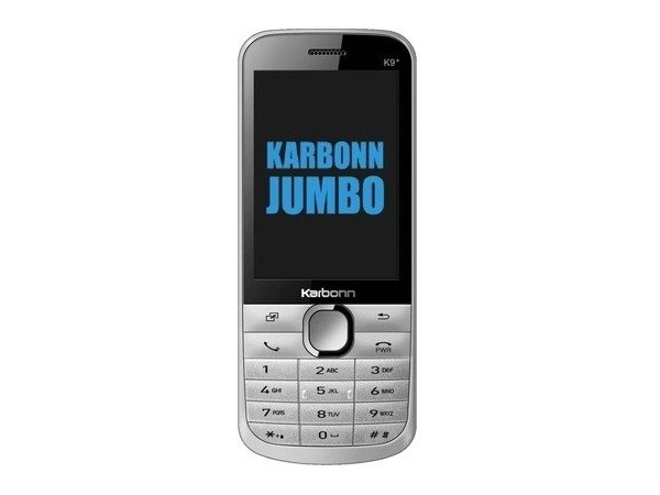 Karbonn k9 Front, Side and Back View