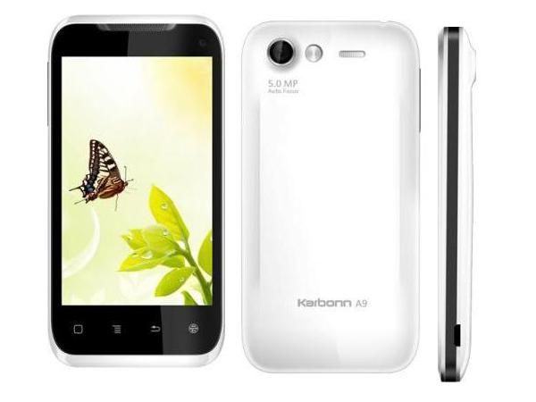 Karbonn A9 All Side View