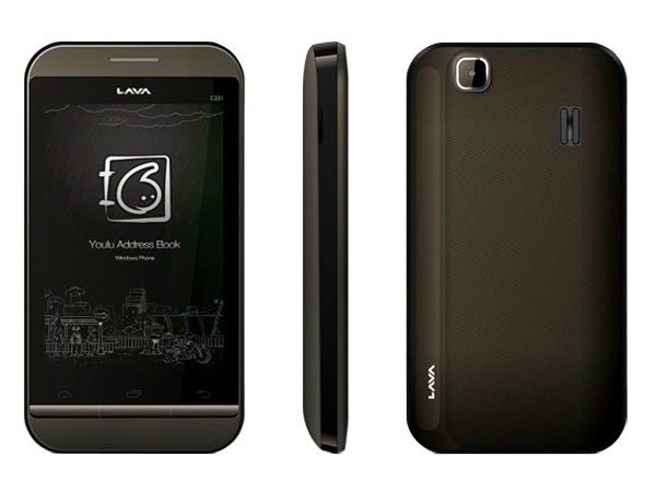Lava C81 Front, Side and Back View