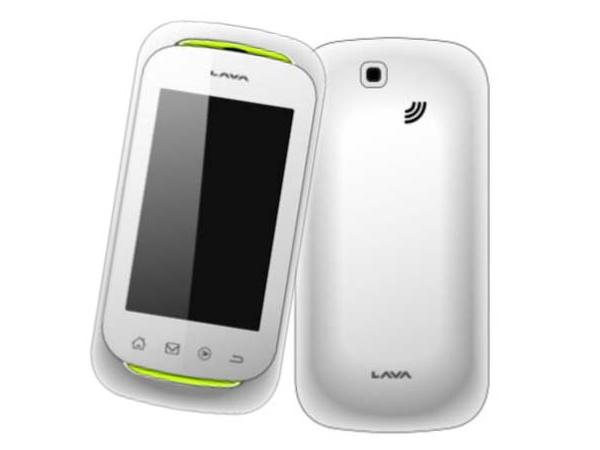 Lava KKT 50 Front and Back View