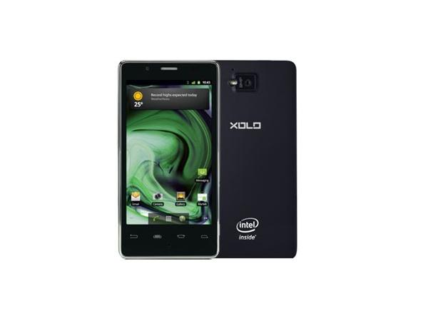 Lava XOLO X900 Front and Back View