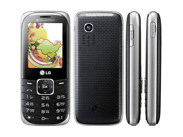 LG A165 Front, Back and Side View