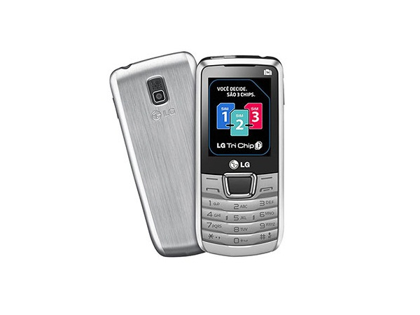 LG A290 Triple sim Front and Back
