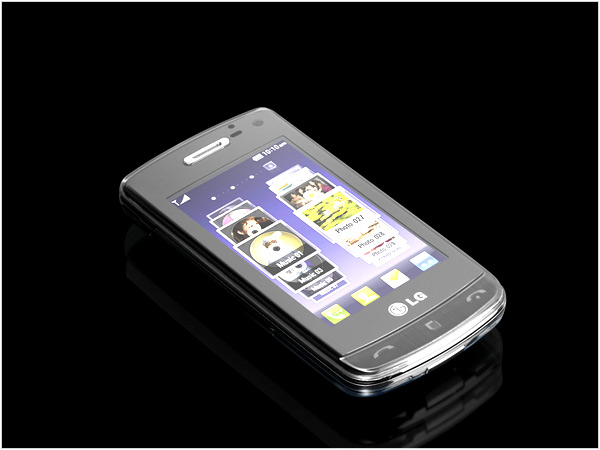 LG GD900 Crystal Transparent Phone