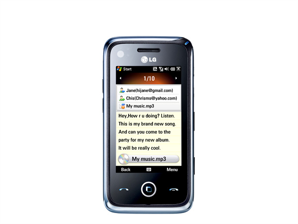 LG GM730 Cell Phone