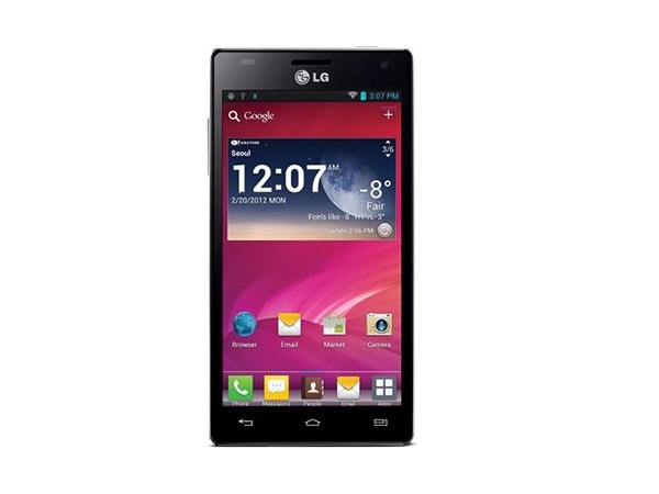 LG Optimus 4X HD P880 Front View