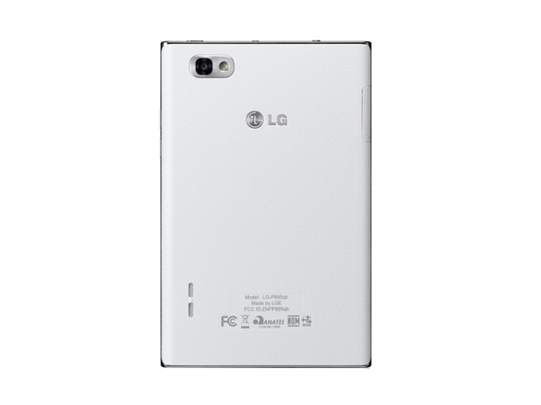 LG Optimus VU P895 Back View