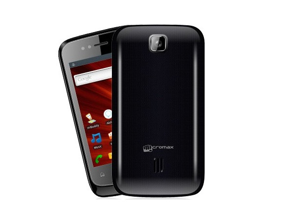 Micromax A44 Superfone Punk Front and Back View