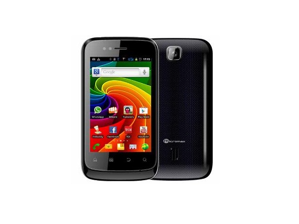 Micromax A45 Superfone Punk Back View