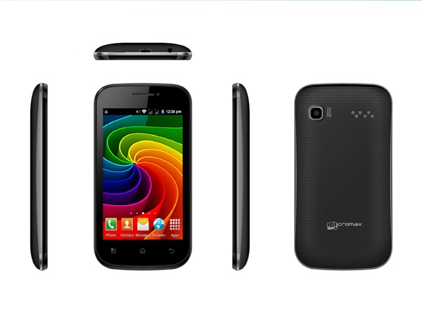 Micromax Bolt A35 all side view
