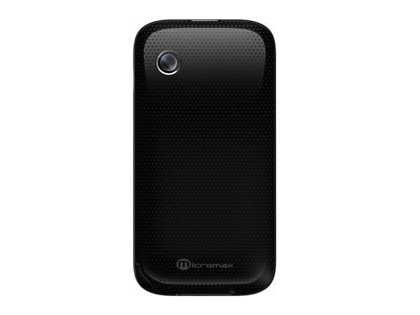 Micromax E390  Back View