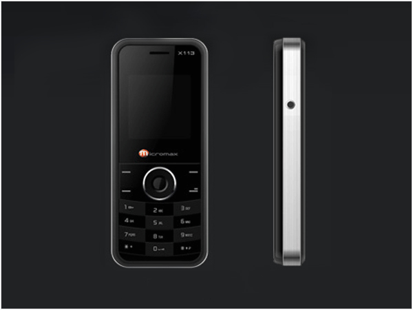 Micromax X113 phone