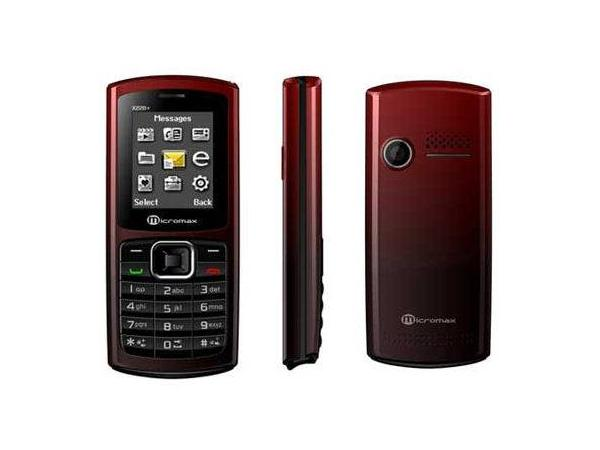 Micromax X228 Plus Front, Side and Back View