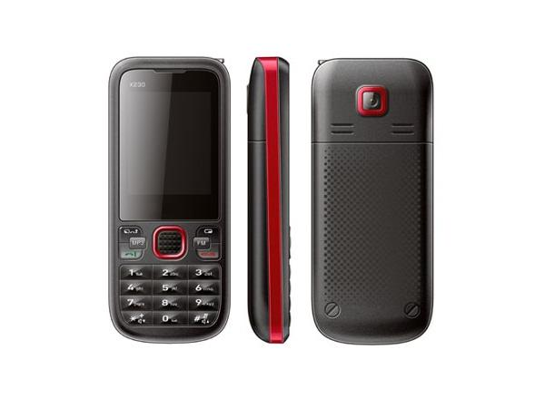 Micromax X230 Front, Side and Back View