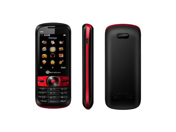 Micromax X246 Front, Side and Back View