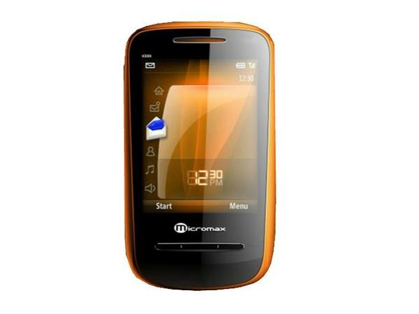 Micromax X333 Front View