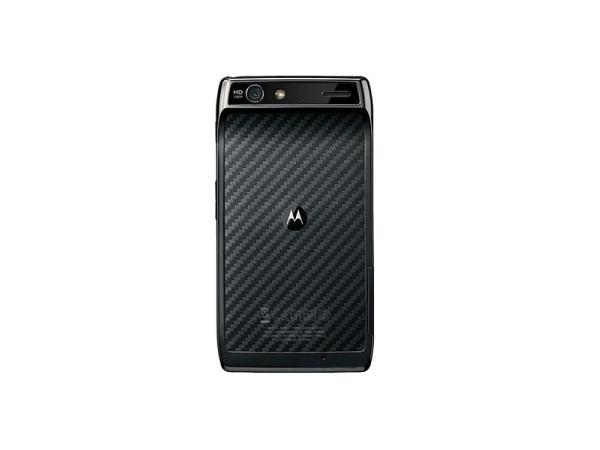 Motorola RAZR XT910 Back View