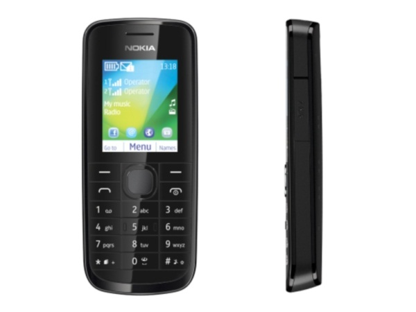 Nokia 114 Front & Side View