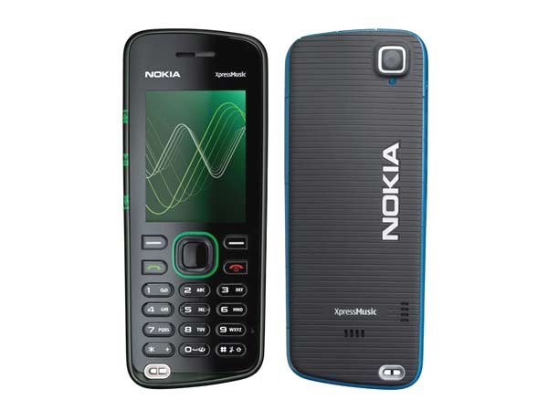 Nokia 5220 XpressMusic Style Phone