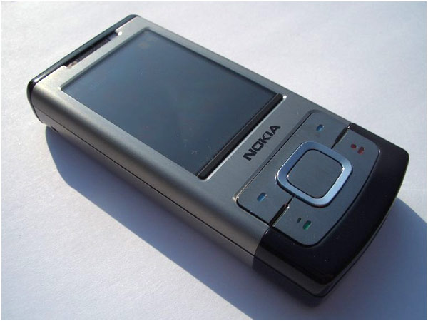 Nokia 6500 Slide Phone