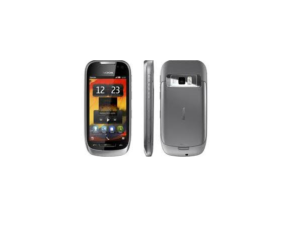 Nokia 701 front,side and back view