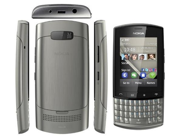 Nokia Asha 303 all view