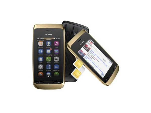 Nokia Asha 308 All side View