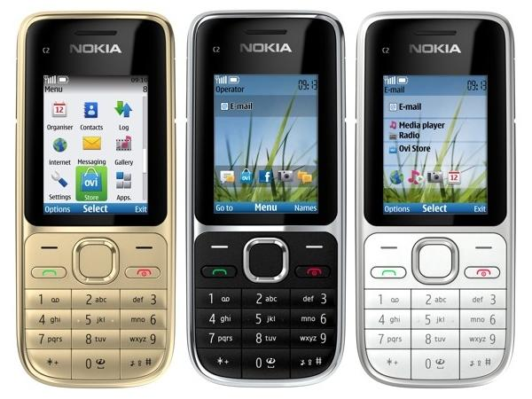 Nokia C2-01 Front View