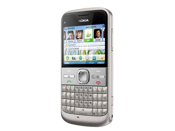 Nokia E5 cell phone