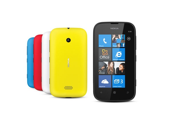 Nokia Lumia 510 back & Colours view view