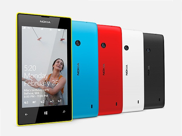 Nokia Lumia 520 All Colours View