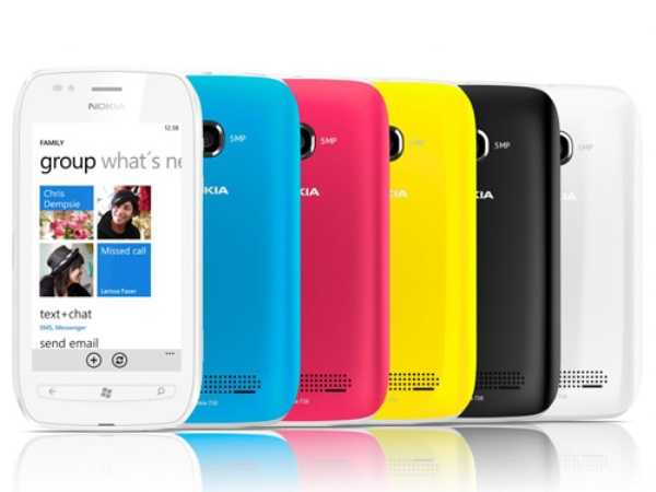 Nokia Lumia 710 All Colors