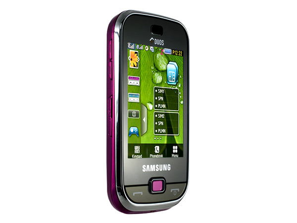 Samsung B5722 Duos Side View