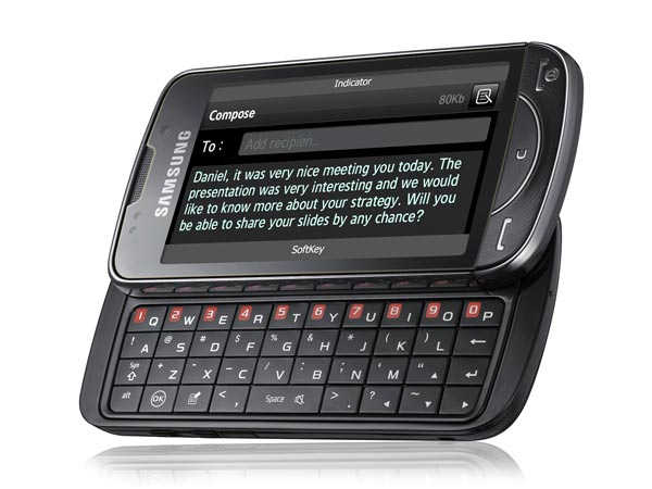 Samsung B7610 OmniaPRO cell phone